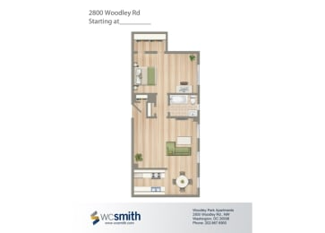 604-Square-Foot-One-Bedroom-Apartment-Floorplan-Available-For-Rent-2800-Woodley-Road