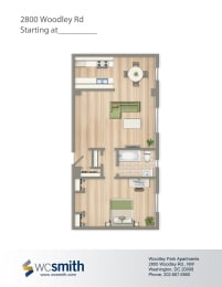 628-Square-Foot-One-Bedroom-Apartment-Floorplan-Available-For-Rent-2800-Woodley-Road