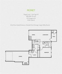 monet round rock luxury apartments, TX 78681