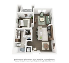 Floor Plan CLEVELAND