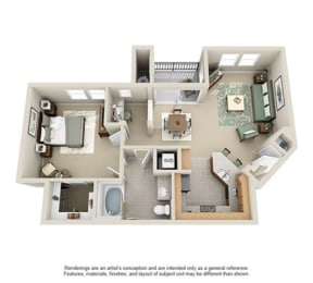Floor Plan KLAMATH