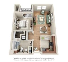 Floor Plan LASSEN