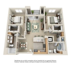 Floor Plan MENDOCINO