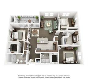 Floor Plan PLUMAS
