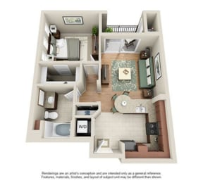 Floor Plan TAHOE