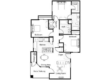 Floor Plan Toscana
