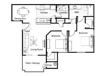 Floor Plan Veneto