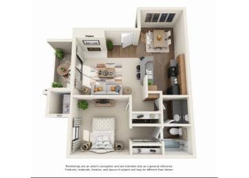 1 bedroom Casita Renovated | One bedroom One bathroom