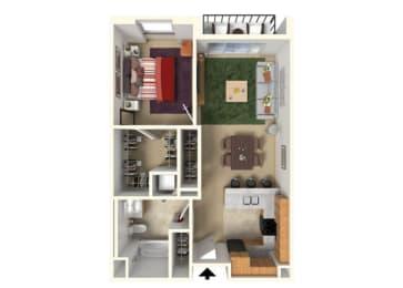 Floor Plan at Redmond Square, Redmond, 98052