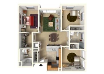 Floor Plan at Redmond Square, Washington, 98052