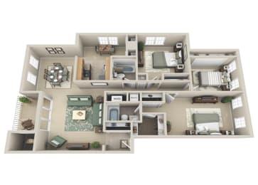 Floor Plan 3 BDRM