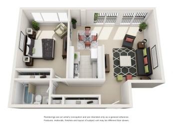 Floor Plan The Alcova