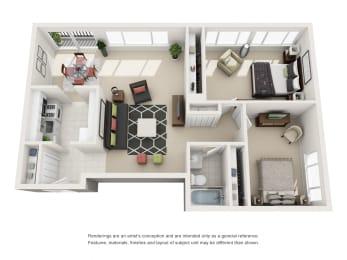 Floor Plan The Barcroft