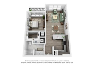 Thorndale Floorplan