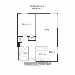 LockVista FP|OneBedroomD|1b1b|537-566sf
