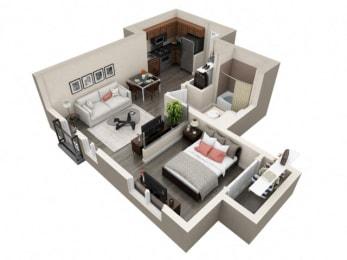 Floor Plan Stu B