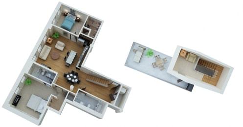 Floor Plan Pillsbury