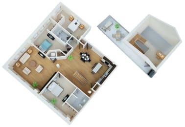Floor Plan J.J. Hill