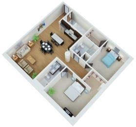 Floor Plan Getty