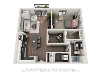 Floor Plan Mitchell