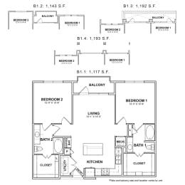 Floor Plan BB.B1