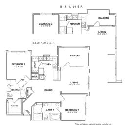 Floor Plan BB.B3