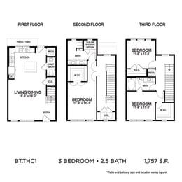 Floor Plan BLT.THC1