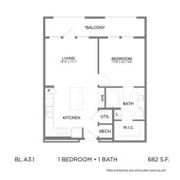 Floor Plan BL.A3.1