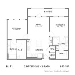 Floor Plan BLB1