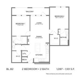 Floor Plan BLB2