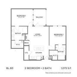Floor Plan BL.B3