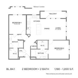 Floor Plan BL.B4.1