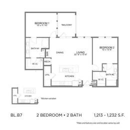 Floor Plan BL.B7