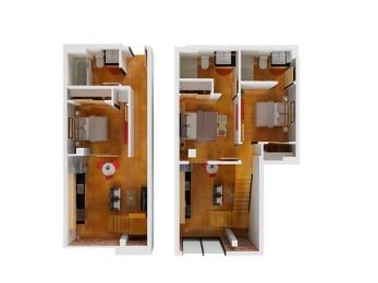 Floor plan at Arc Light, San Francisco, CA 94107