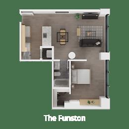 Floor Plan The Funston