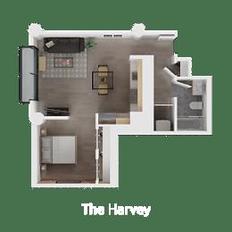 Floor Plan The Harvey