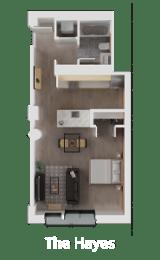 Floor Plan The Hayes