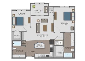 Floor plan at The Edison at Avonlea, Lakeville, 55044