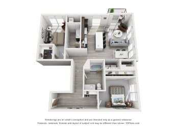 Floor Plan Minnehaha