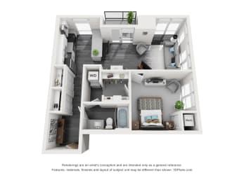 Floor Plan Spoonbridge