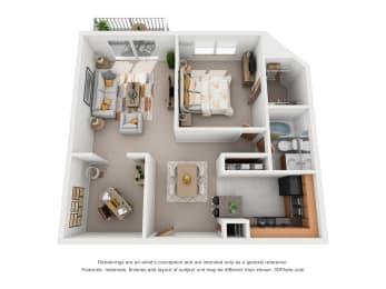 Floor Plan Minnewaska, opens a dialog