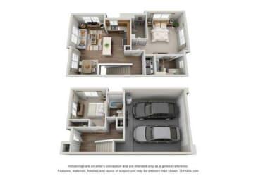 Floor Plan Calabria