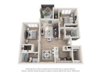 the cantera b1 b2 floorplan