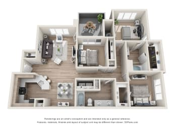 the perfection c1 floorplan, opens a dialog