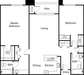 Floor Plan The Cypress - Premier