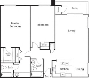 Floor Plan The Palms - Premier