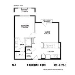 Floor Plan CAA2.1