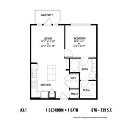 Floor Plan CAA3.1