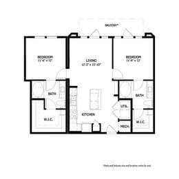Floor Plan CRAB1.1