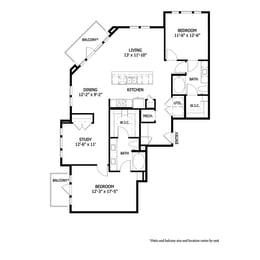 Floor Plan CRAB3S